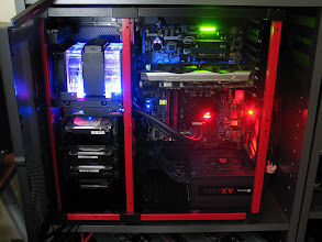 Photo: As of 6.24.2013... need to flip the psu sticker.  Plan to have radiator light go according to temp.