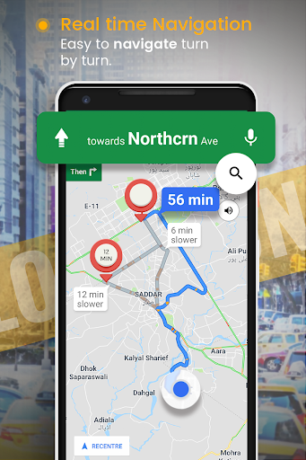 GPS Route Finder screenshot