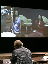 Photo: Clara Ma, who named the Mars Curiosity Rover when she was 11 years old, gets interviewed at JPL