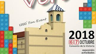 Cartel Exposición de Lego en Vera.