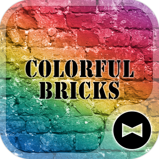 Colorful Bricks +HOME Theme Icon