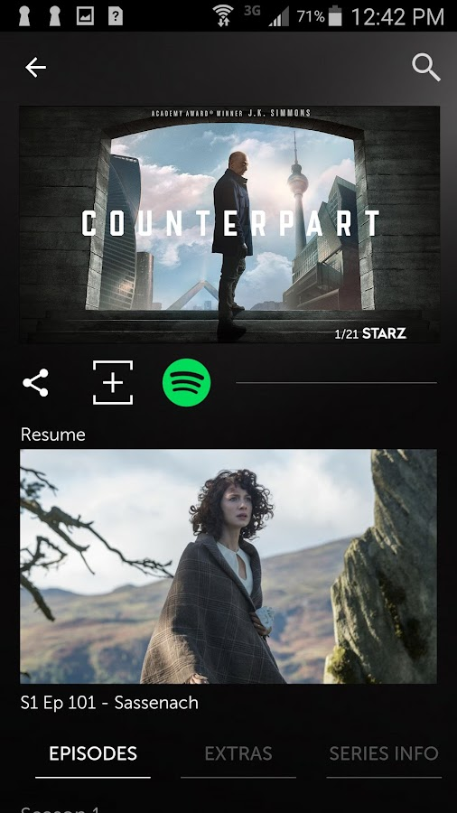STARZ- screenshot