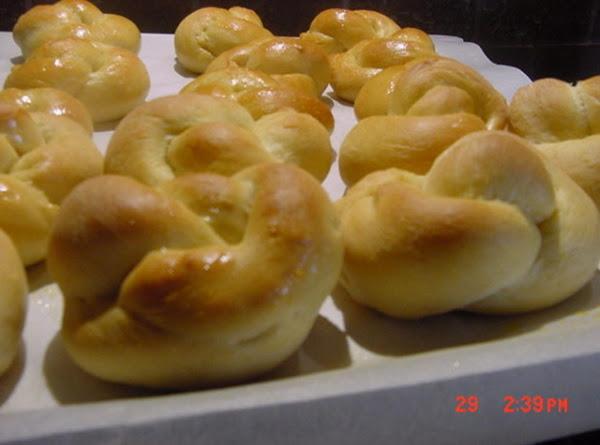 Honey Sweet Potato Knot Rolls Recipe