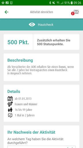 AOK Bonus-App screenshot 3
