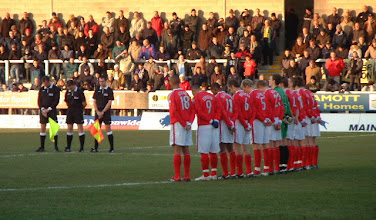 Photo: 26/11/05 v Kidderminster Harriers (Conference National) 1-0 - contributed by Martin Wray