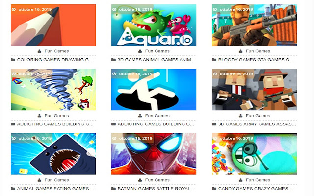 .Io Games - HTML5