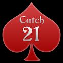 ♣ Catch 21 Blackjack Solitaire Game icon
