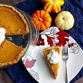 Cream Cheese Pumpkin Pie.