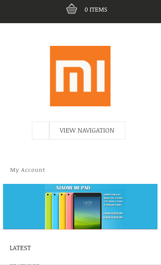 Xiaomi shop singapore- screenshot