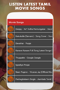 1000+ TAMIL SONGS LATEST 2019 – MP3 Apk Download 4