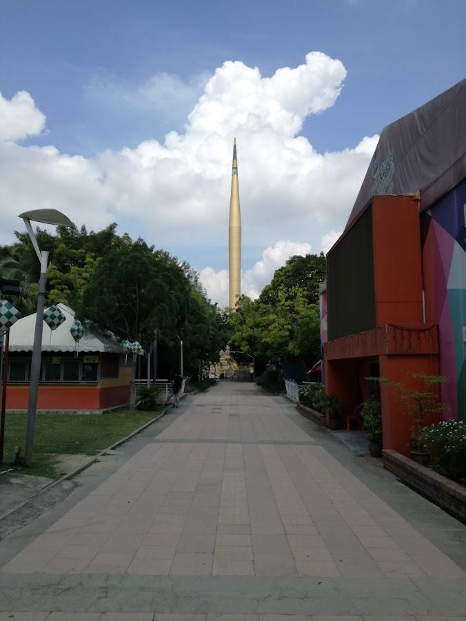 Впервые в Малайзии (Куала-Лумпур, Перхертинан Бесар, Реданг май 2018)