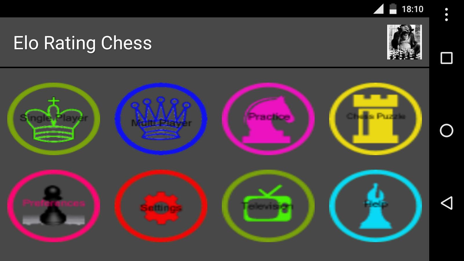 Schach Elo Test