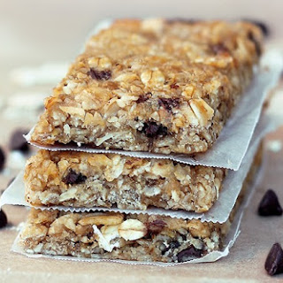 Chewy Healthy Granola Bars.