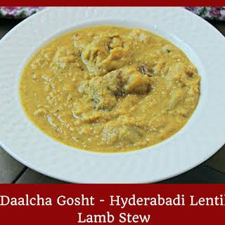Hyderabadi Lamb & Dal Curry.