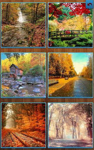 秋のジグソーパズル