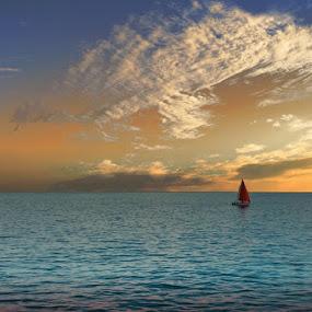 Peaceful Easy Feeling by Sean Haley - Transportation Boats
