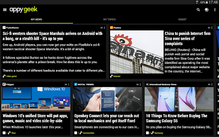 Appy Geek – Tech news Screenshot 1