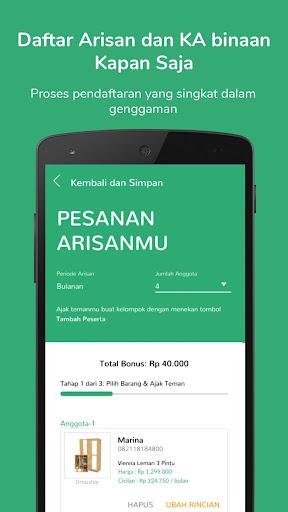 Mapan: Usaha Lewat Arisan 1.5.1 screenshots 3