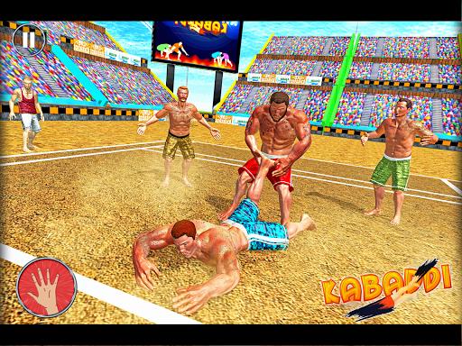 Kabaddi Wrestling Game - Pro Knockout Fighting  screenshots 2