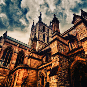 Southwark Cathedral  by Brandon Rechten - Buildings & Architecture Places of Worship ( england, rechten, church, southwark, cathedral, worship )