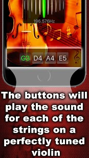 Chromatic Violin Tuner- screenshot thumbnail