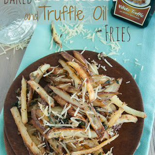 Baked Parmesan and Truffle Oil Fries