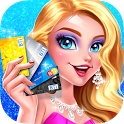 Rich Girl Shopping Day: Dress up & Makeup Games icon