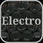 Electronic drum kit icon