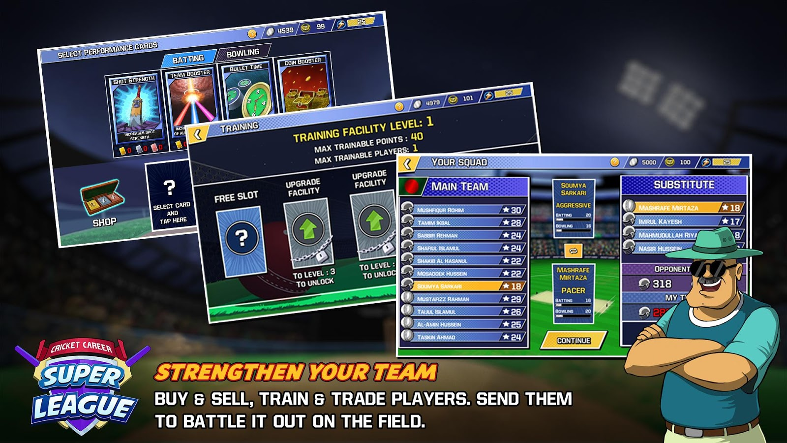 Cricket Career Super League- screenshot