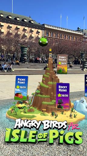 Angry Birds AR: Isle of Pigs 1.1.2.57453 screenshots 1