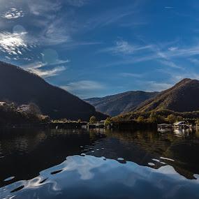 by Kiril Krastev - Landscapes Waterscapes ( krastev, canon, reservoir, kiril, mountain, rodope,  )