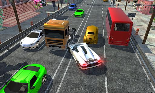 Racing in car 2018 - City traffic racer driving 1.0.4 screenshots 1