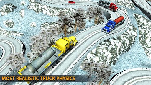 Truck Driving Uphill : Truck simulator games 2020 apktram screenshots 18
