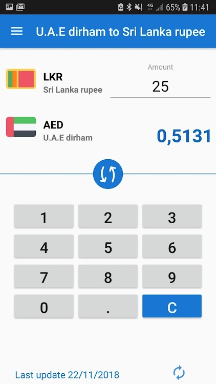 U A E Dirham To Sri Lanka Ru Aed