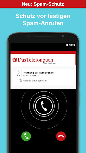 Das Telefonbuch with caller ID and spam protection 6.3.1 screenshots 1
