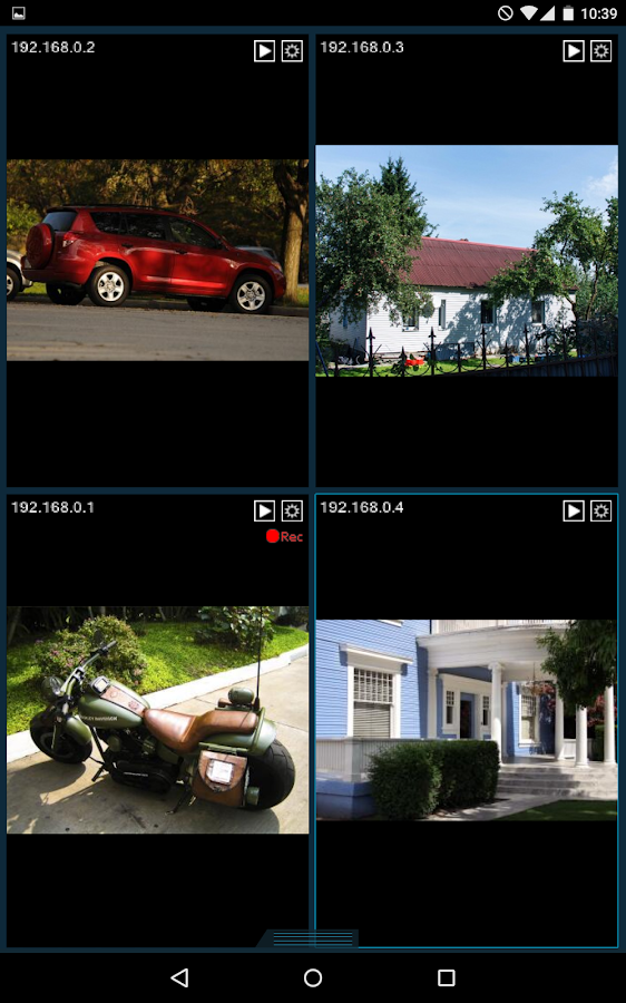 Xeoma Video Surveillance- screenshot