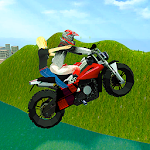 Real Flying Bike Simulator Icon