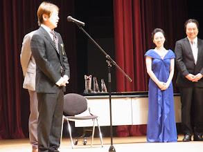 Photo: 今回の特別賞はお二人、お一人は福岡の松原先生