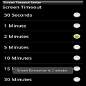 Screen Timeout icon