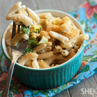 5-ingredient Broccoli Cheese Pasta