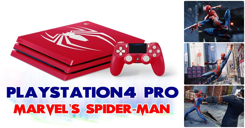[PS4] เครื่องใหม่ Marvel's Spider-Man Limited Edition