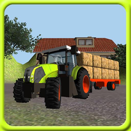 Tractor Simulator 3D: Hay