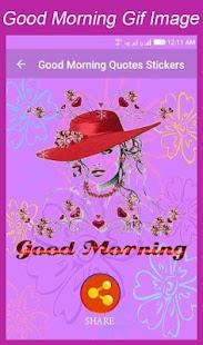Good Morning Gif Animation - náhled