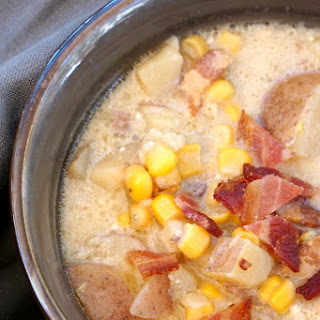 Potato Corn Chowder Bacon Recipes