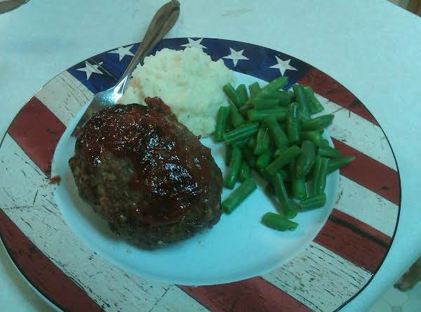 Meatloaf And Mash Tater, The All American Meal!