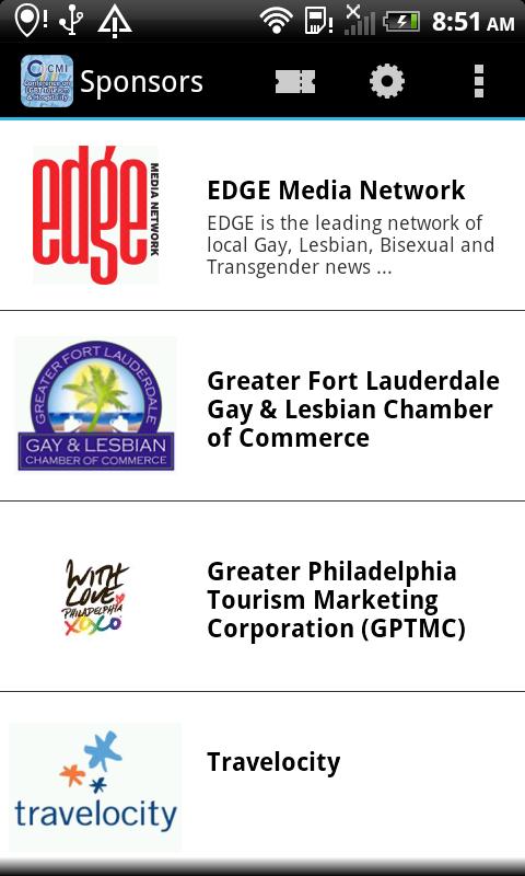 Скриншот CMI Conference on LGBT Tourism