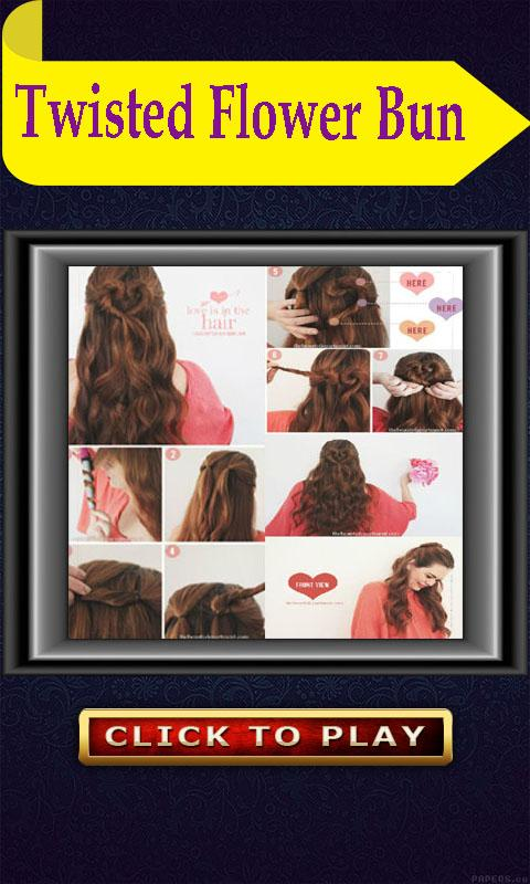 Girls Hair Styles Videos 2017- screenshot