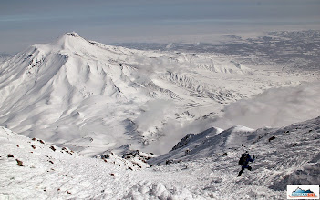 Photo: Downhill from 3456 meters to 840 meters has just started