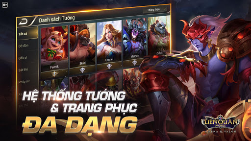 Garena Liu00ean Quu00e2n Mobile 1.20.1.1 screenshots 5