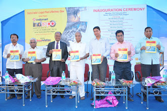 Photo: Launching Nagpur Industrial Yellow Pages & Exhibitor Directory during Inauguration Ceremony